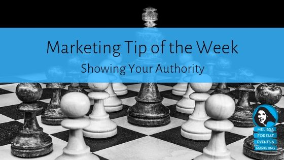 Showing Your Authority