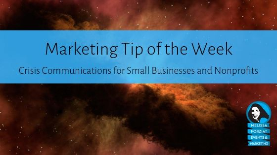 Crisis Communications for Small Businesses and Nonprofits