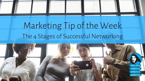 The 4 Stages of Successful Networking