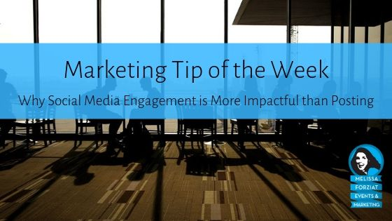 Why Social Media Engagement is More Impactful than Posting