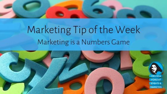 Marketing is a Numbers Game