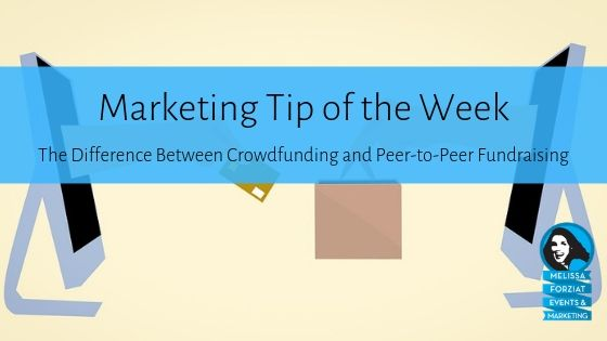 The Difference Between Crowdfunding and Peer-to-Peer Fundraising