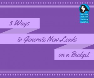 3 Ways to Generate New Leads on a Budget Course