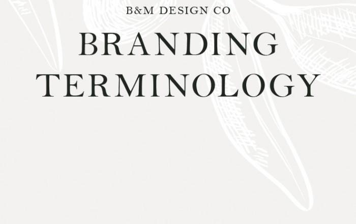 Branding Terminology
