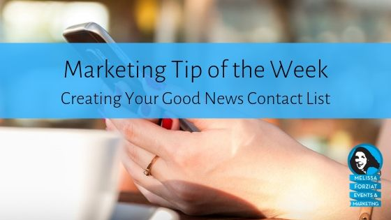 Creating Your Good News Contact List