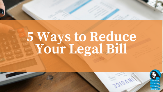 5 Ways to Reduce Your Legal Bill