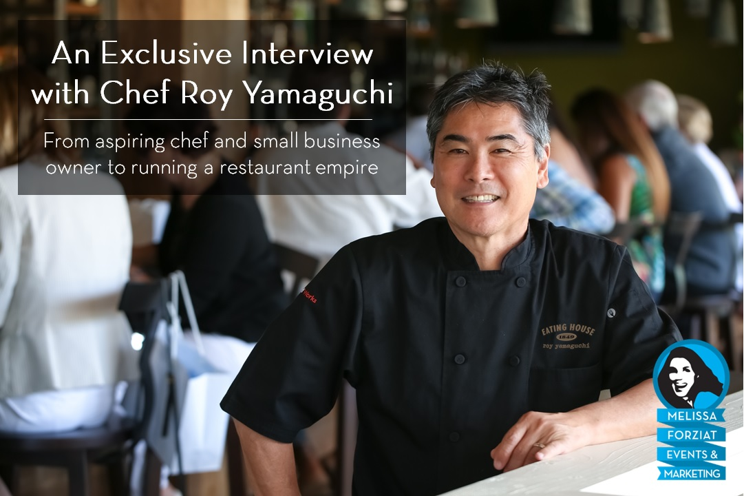 Exclusive Interview with Chef Roy Yamaguchi