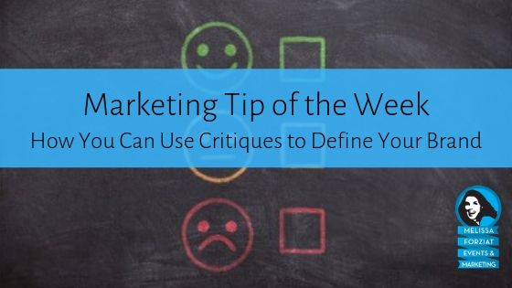 How You Can Use Critiques to Define Your Brand
