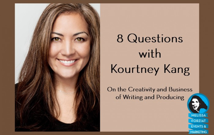 8 Questions with Kourtney Kang
