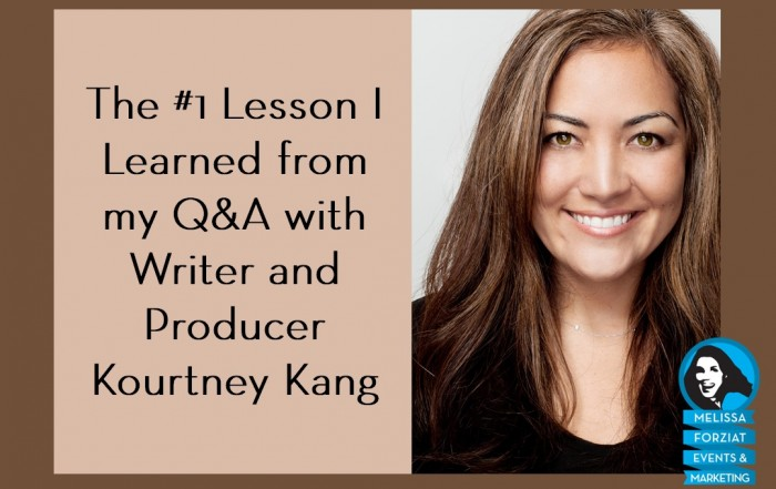 Q&A Lessons with Kourtney Kang